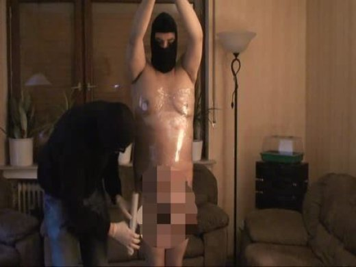 Amateurvideo slaveO - folien bondage  von DER_BULLE