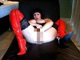 Amateurvideo PUSSYFIST mit Überraschungen von RoxanaXrated